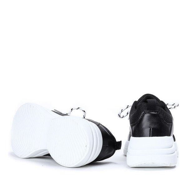 2890136e Kliknij, aby powiększyć; Czarne buty sportowe na grubej podeszwie Hailey -  Obuwie Kliknij, aby powiększyć. 1