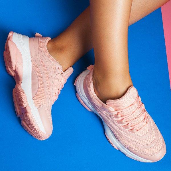 Różowe Buty Buty sportowe dziecięce Adidas rozmiar 38