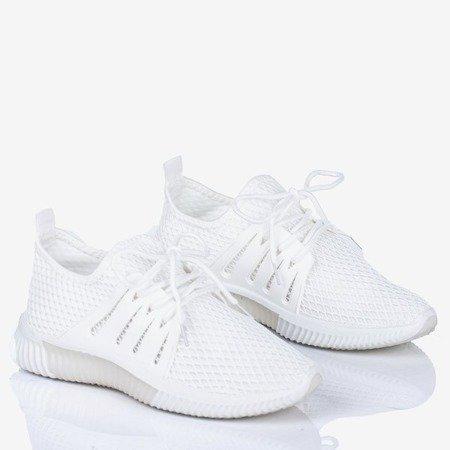 Białe buty sportowe damskie Dixi - Obuwie