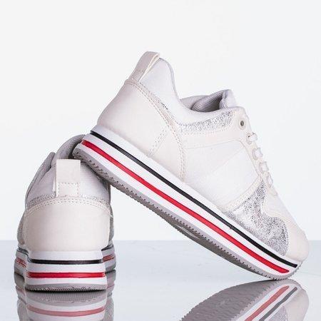 Białe sportowe buty damskie Free Now - Obuwie