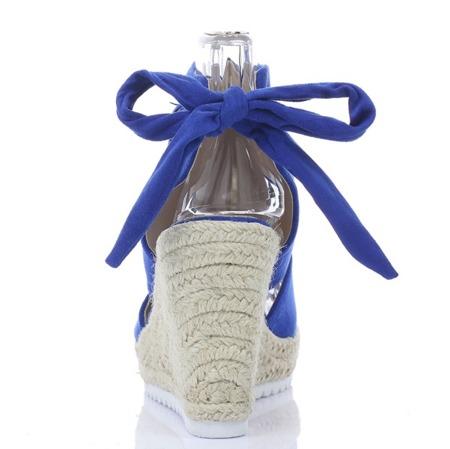 Chabrowe sandały z cholewką - Obuwie