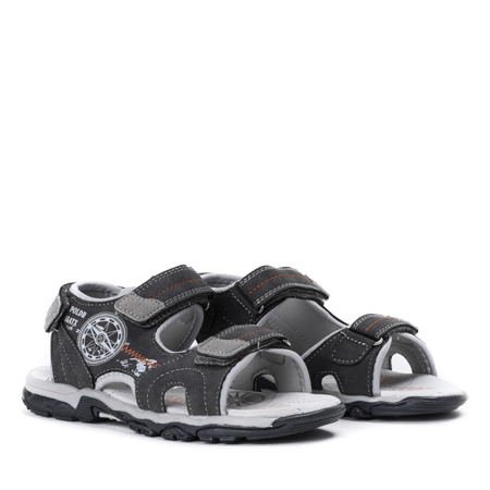 Chłopięce sandały w kolorze szarym Oliver - Obuwie