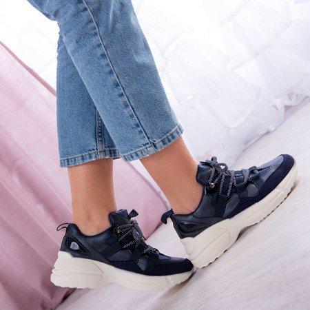Ciemnogranatowe buty sportowe Ocean - Obuwie