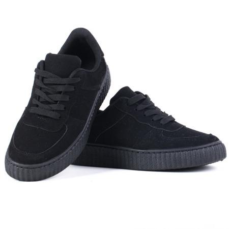 Czarne adidasy  - Obuwie
