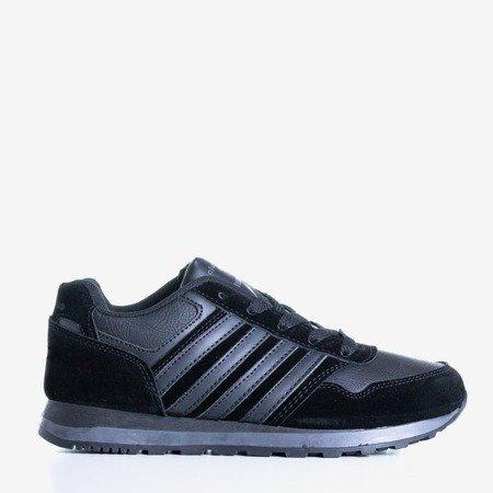 Czarne damskie sportowe buty Saja - Obuwie