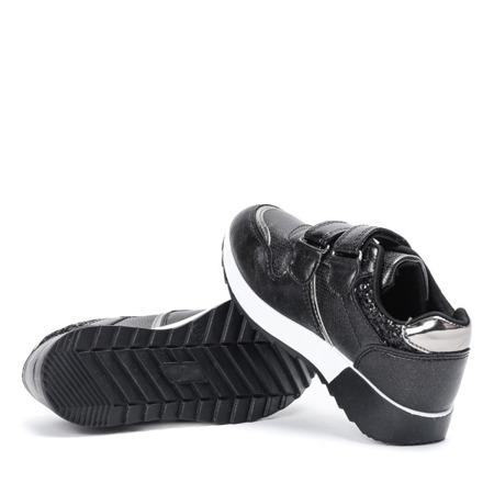 Czarne dziewczęce buty sportowe Hawkgirl - Obuwie