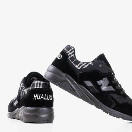 Czarne męskie buty sportowe Gary - Obuwie