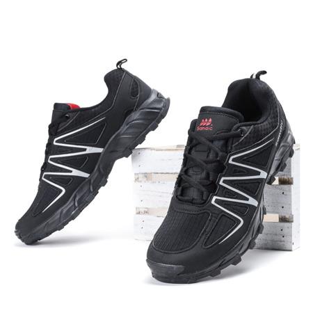Czarne męskie buty sportowe Jonas - Obuwie