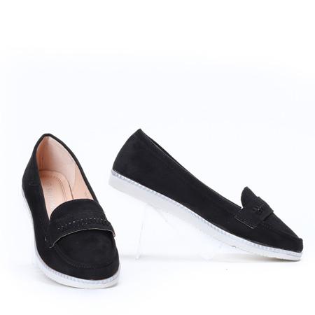 Czarne mokasyny Yen- Obuwie