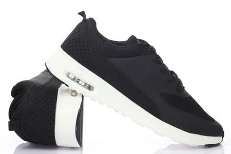 Czarne sneakersy Aldoni - Obuwie