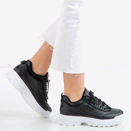 Czarne sportowe sneakersy damskie That's It - Obuwie