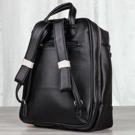 Czarny plecak damski - Plecaki