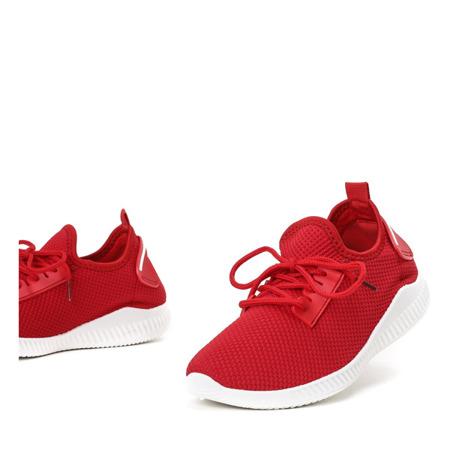 Czerwone buty sportowe Therane - Obuwie