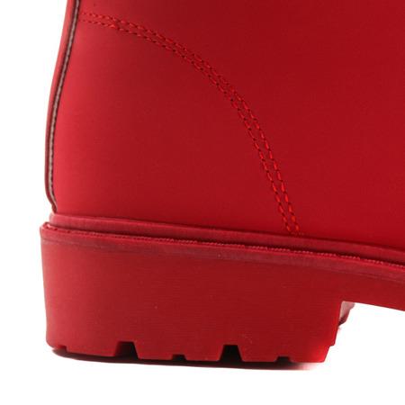 Czerwone trapery ocieplane - Obuwie