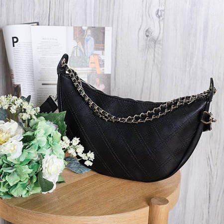 Damska torebka w kolorze czarnym - Torebki