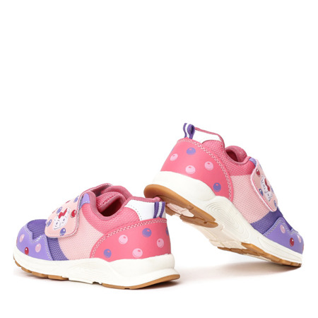 Dziewczęce buty w kolorze fioletowym Oliena - Obuwie