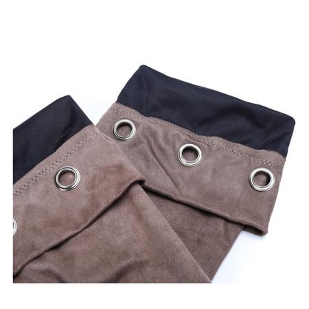 Kozaki w kolorze khaki Miya- Obuwie