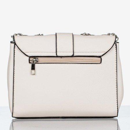 Kremowa mała torebka na ramię - Torebki