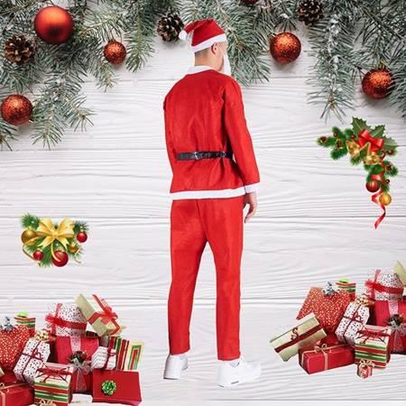 Męski strój św. Mikołaja - Odzież