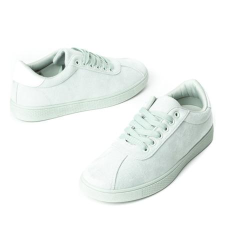 Miętowe buty sportowe Dinara - Obuwie