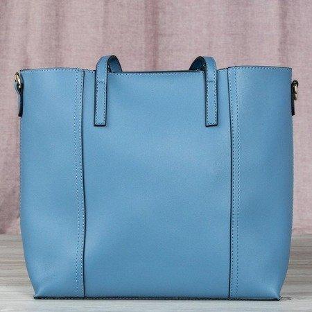 Niebieska duża torba damska - Torebki