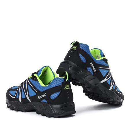 Niebiesko-czarne męskie buty sportowe Jonas - Obuwie