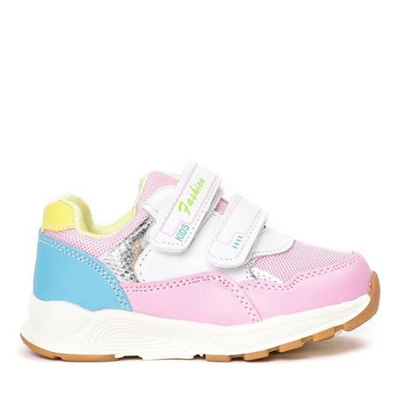 Różowe dziewczęce buty Alona - Obuwie