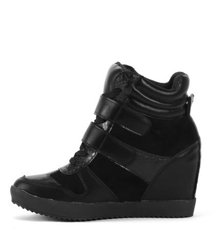 Sneakersy na koturnie - Obuwie