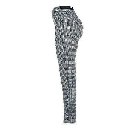 Spodnie na gumkę w pepitkę - Spodnie