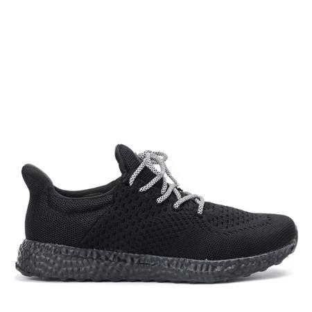 Sportowe buty damskie w kolorze czarnym Lianna - Obuwie