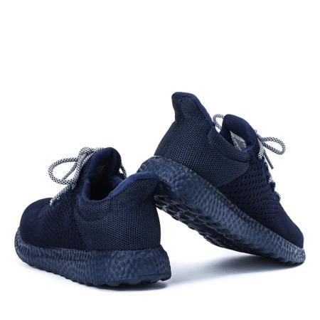 Sportowe buty damskie w kolorze granatowym Lianna - Obuwie