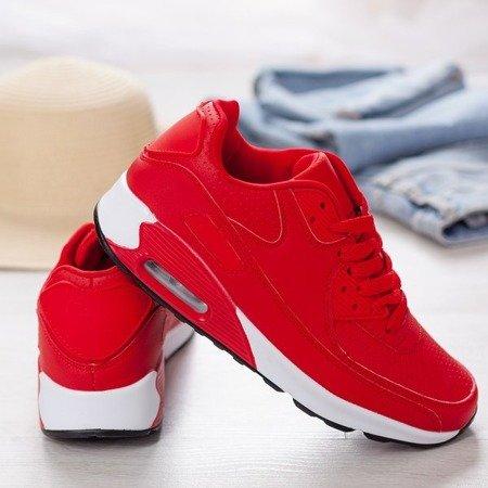 Sportowe buty w kolorze czerwonym Shenia - Obuwie