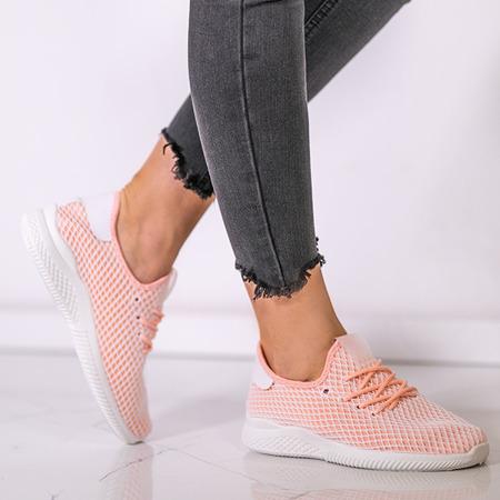 Sportowe buty w kolorze różowo - pomarańczowym Kaylee - Obuwie
