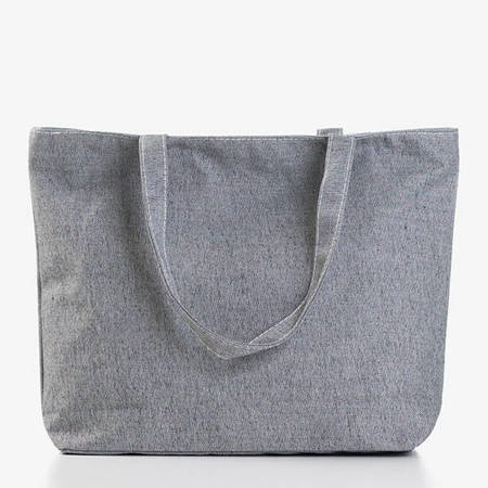 Szara damska torba z pintem - Torebki