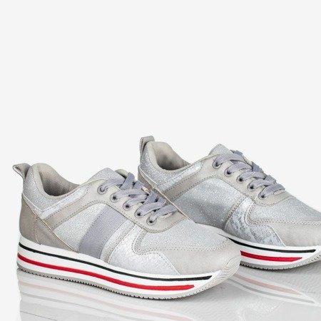 Szare sportowe buty damskie Free Now - Obuwie