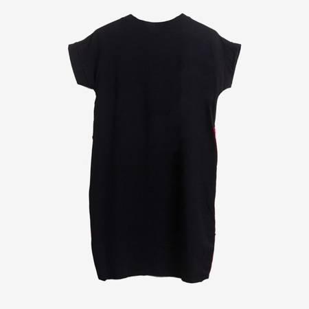 Wielokolorowa sukienka z nadrukiem Pop Art - Odzież