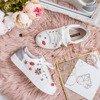 Biało- srebrne buty sportowe z ozdobami Gavriella - Obuwie