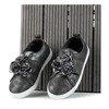 Szare sportowe buty dziewczęce Fllore - Obuwie